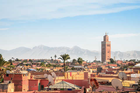 Guidede turer på Marrakech