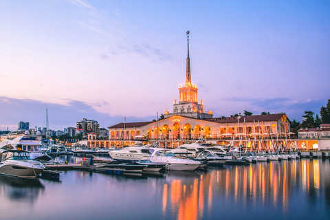 Guided tours in Sochi
